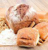 Sweet breads Stock Photos