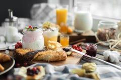 Sweet breakfast Stock Image