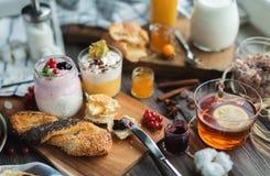 Sweet breakfast Stock Photography