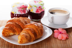Sweet breakfast Stock Photos