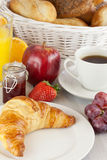 Sweet breakfast Royalty Free Stock Image