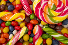 Sweet brightly colored candy Royalty Free Stock Photography