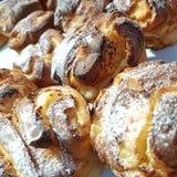 Sweet brioche bread with ricotta cheese Stock Photo
