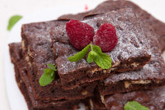 Sweet Brownies Royalty Free Stock Photos