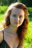 Sweet  brunette girl Stock Image