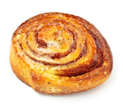 Sweet bun with cinnamon Stock Photo
