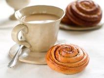 Sweet bun Stock Images