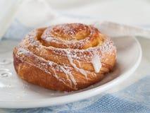Sweet bun Royalty Free Stock Images