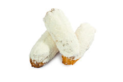 Sweet Bun Sprinkled with coconut Stock Photography