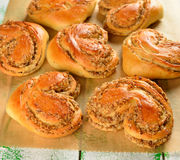 Sweet buns Stock Photos