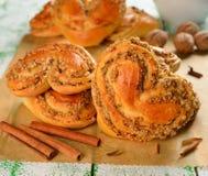 Sweet buns Stock Photography