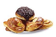 Sweet buns Royalty Free Stock Image