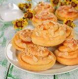 Sweet buns Stock Image
