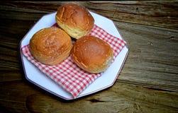 Sweet buns treat Stock Image