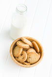 Sweet butter biscuits Stock Image