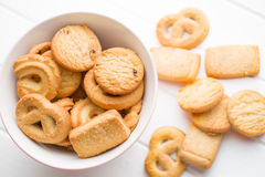 Sweet butter biscuits Royalty Free Stock Photography