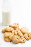 Sweet butter biscuits Royalty Free Stock Image