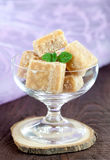 Sweet butter fudge Stock Photography