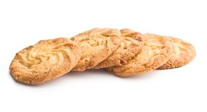 Sweet buttery cookies. Royalty Free Stock Photography