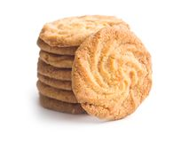 Sweet buttery cookies. Stock Photography