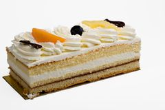 Sweet cake Stock Images