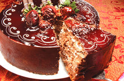 Sweet cake Stock Photography