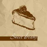 Sweet cake Royalty Free Stock Images