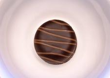 Sweet cake with chocolate Stock Photos