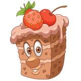 Cartoon Sweet Cake stock images