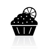 Sweet cake icon Stock Photos