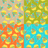 Sweet cake. Seamless pattern. Vector. Stock Photography