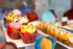 Sweet cakes Royalty Free Stock Images