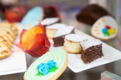 Sweet cakes Stock Images