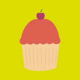 Sweet cakes design Stock Images