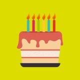 Sweet cakes design Stock Photography