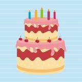 Sweet cakes design Royalty Free Stock Photo