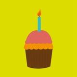 Sweet cakes design Royalty Free Stock Image