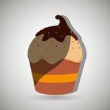 Sweet cakes design Stock Photo