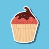 Sweet cakes design. Illustration eps10 graphic Royalty Free Stock Photo