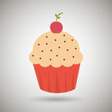 Sweet cakes design Royalty Free Stock Photography