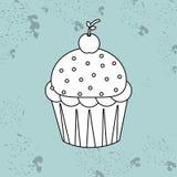 Sweet cakes design. Illustration eps10 graphic Royalty Free Stock Photos