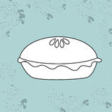 Sweet cakes design. Illustration eps10 graphic Stock Image