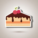 Sweet cakes design. Illustration eps10 graphic Stock Photo