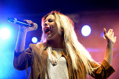 Sweet California (girl band) at Primavera Pop Festival Stock Photo