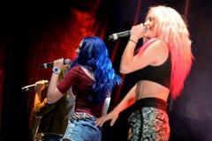 Sweet California (girl band) at Primavera Pop Festival Royalty Free Stock Images