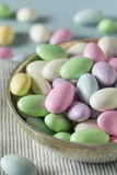 Sweet Candied Jordan Almonds Royalty Free Stock Images