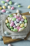 Sweet Candied Jordan Almonds Royalty Free Stock Photography