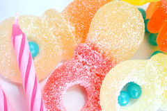 Sweet candies Stock Photos