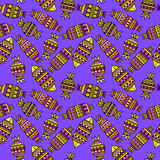 Sweet candies set. Colorful Vector Seamless Pattern. Stock Images