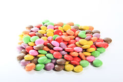 Sweet candies spreading pastry decoration background Stock Image
